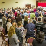 """AA4Syria Event in Los Angeles. """"Standing ovation for Mother Agnes"""""""