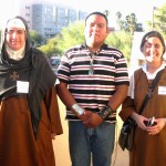 "Mother Agnes-Mariam at Tucson ""Tear Down the Walls"" gathering"
