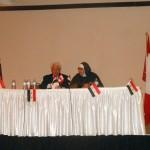 Mother Agnes and Dr. Atif Kibursi, in Etobicoke, Toronto