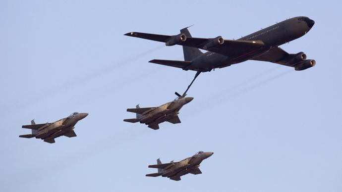 Israeli F-15 fighter jets (AFP Photo / Jack Guez)