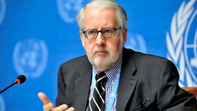 Paulo Sergio Pinheiro, head of the Geneva-based UN commission of inquiry on Syria
