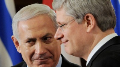Stephen-Harper-and-Netanyahu-400x224