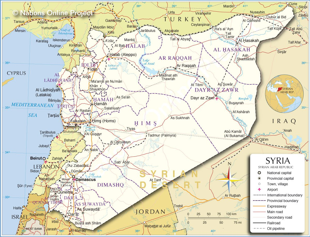 Respect: Balkanizing Syria, Buffer Zone in Northern Syria. Redrawing ...